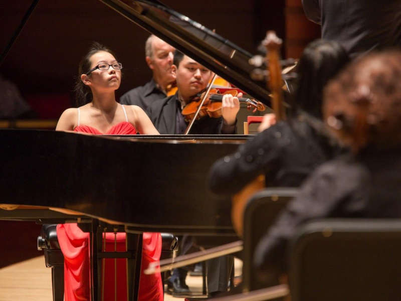 Melody Yu With Orchestra